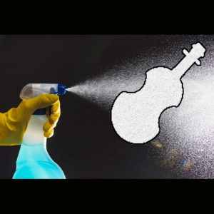 تمیز کردن ساز ویولن